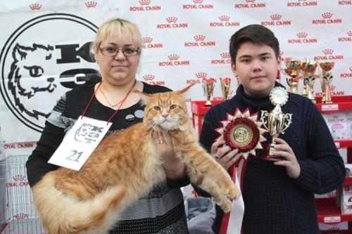 Международная выставка кошек «CAT-Expo 2018» (7)